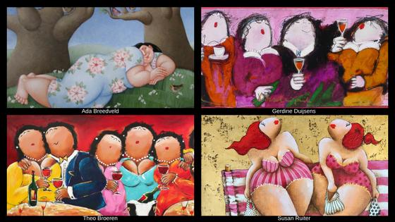 Verwonderend Dikke dames schilderijen - en wat je erover moet weten. - Susan Ruiter BC-32